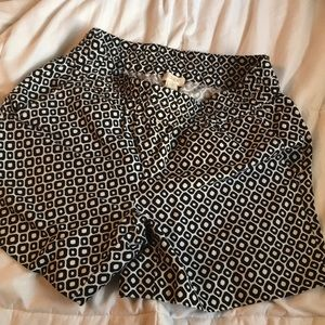 J. Crew stretchy shorts